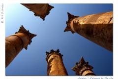 column to the sky