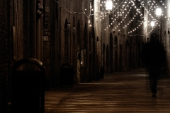 Walking in the night
