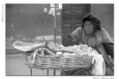 venditrice di pane