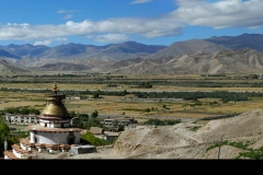 Gyantse valley