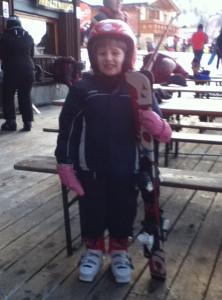 Ovetta sugli sci
