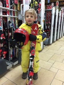 Il Monno va a sciare